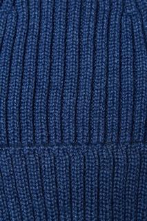 Синяя шапка-бини Blank.Moscow