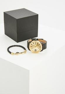 Комплект браслет и часы Diesel
