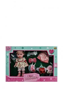"""Кукла """"Модница"""", 22 см, в наборе с аксессуарами, 4 вида в ассортименте, в коробке, 42,5x29x6,5 см Abtoys"""
