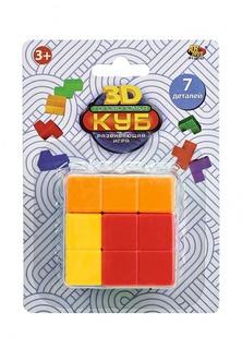 Куб головоломка 3D, 7 деталей, на блистере, 10x5x14 см Abtoys