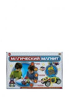 """Конструктор """"Магический магнит"""" , 40 деталей, в коробке, 27,5x18,5x7 см Abtoys"""