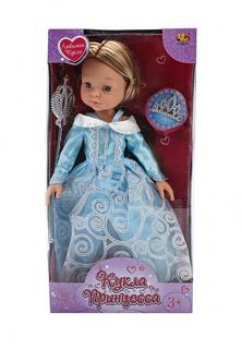 "Кукла ""Принцесса"", 30 см, в наборе с аксессуарами, 2 вида в ассортименте, в коробке, 34х17х8,5 см Abtoys"