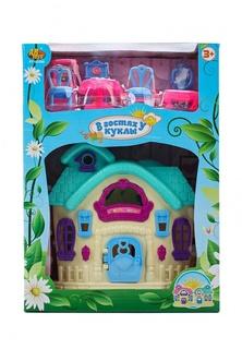 "Дом ""В гостях у куклы"", с аксессуарами, в коробке, 21,5x10x29,5 см Abtoys"