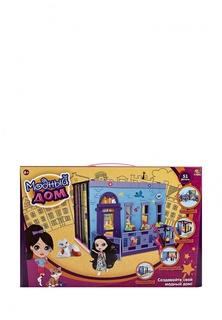 """Дом """"Модный дом"""", в наборе с куклой и мебелью, 100 деталей, в коробке, 46,5x7,5x31 см Abtoys"""