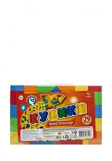 Кубики  мягкие, в наборе 29 предметов, в пакете, 24,5x16x3,7 см Abtoys