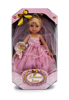 "Кукла "", 2 вида в ассортименте, в коробке, 34х20х8 см Abtoys"