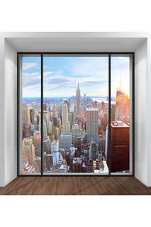 Обои Окно на Нью-Йорк 250х270 Chernilla