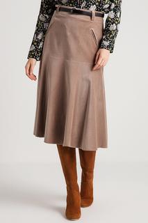 Расклешенная юбка со складками BGN