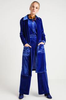 Свободное пальто с накладными карманами BGN