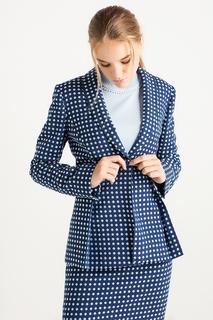 Приталенный пиджак в горошек BGN