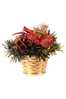Новогодний букет в корзинке Vittorio Richi
