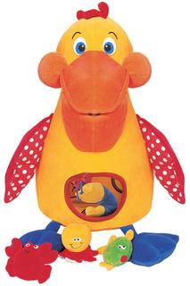 """""""Голодный"""" пеликан с игрушками KS Kids"""