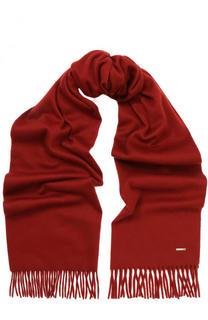 Кашемировый шарф с бахромой Loro Piana
