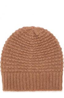 Шерстяная шапка фактурной вязки Stella McCartney