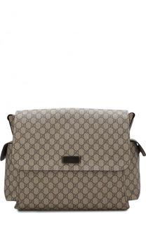 Текстильная сумка в комплекте с ковриком Gucci
