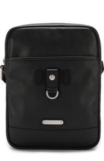 Кожаная сумка-планшет Saint Laurent