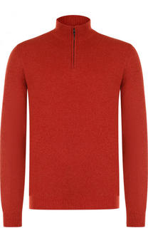 Кашемировый свитер с воротником на молнии Loro Piana