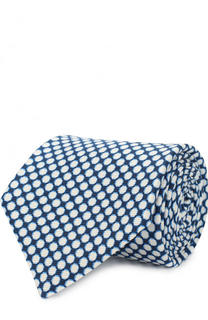 Шелковый галстук с принтом Kiton