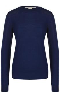 Шерстяной пуловер прямого кроя с круглым вырезом Stella McCartney