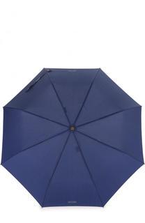 Складной зонт в полоску Moschino