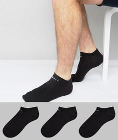 Комплект из 3 пар спортивных носков Nike SX2554-001 - Черный