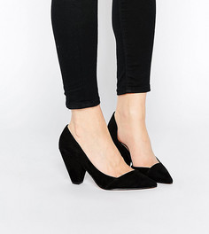 Tуфли для широкой стопы на каблуке ASOS SAPPHIRE - Черный
