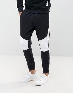 Джоггеры со вставками Calvin Klein Jeans - Черный