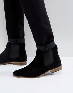 Замшевые ботинки челси Kg By Kurt Geiger - Черный