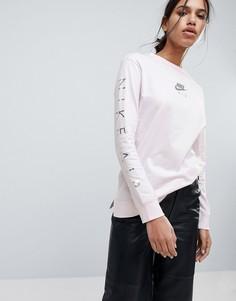 Розовый лонгслив Nike Air - Розовый
