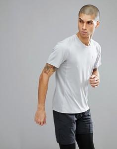 Серая футболка с принтом Nike Running Miler 858157-012 - Серый