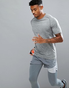 Серая футболка Nike Dri-FIT 833562-066 - Серый