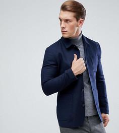 Куртка узкого кроя на пуговицах Heart & Dagger - Темно-синий