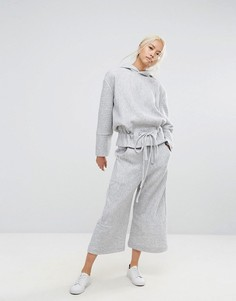 Широкие укороченные брюки House Of Sunny - Серый