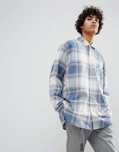 Рубашка в клетку Dead Vintage James - Синий