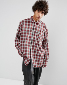 Рубашка в клетку Dead Vintage James - Бежевый