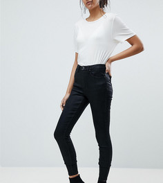 Черные джинсы с покрытием ASOS TALL SCULPT ME Premium - Черный