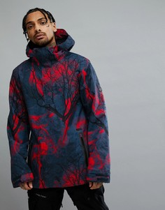 Куртка с принтом Volcom Snow Brighton - Синий