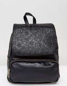 Рюкзак с тиснением 7X - Черный