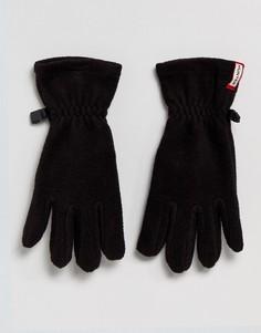 Черные флисовые перчатки Hunter Original - Черный