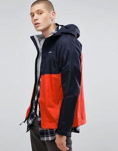 2-цветная водонепроницаемая куртка Patagonia - Темно-синий