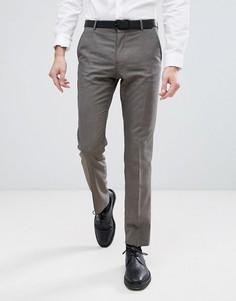 Узкие брюки Selected Homme - Коричневый