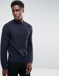 Джемпер крупной вязки Threadbare - Темно-синий