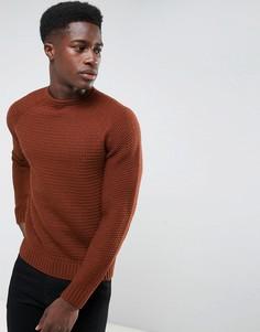 Джемпер крупной вязки Threadbare - Коричневый