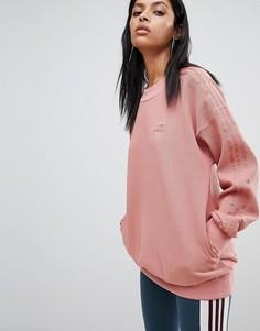 Розовый свитшот adidas Originals - Розовый