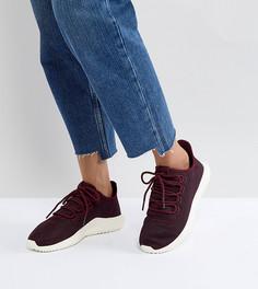 Бордовые кроссовки adidas Originals Tubular Shadow - Красный