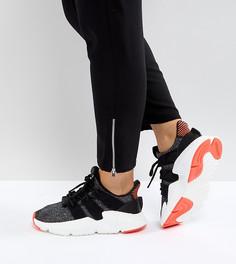 Черные кроссовки с розовой отделкой adidas Originals Prophere - Черный