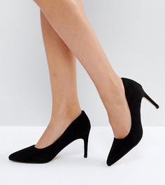 Туфли-лодочки на каблуке для широкой стопы Truffle Collection - Черный