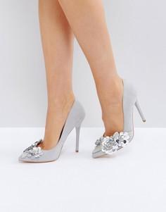 Туфли-лодочки с острым носком Office Hot Stuff - Серый