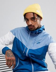 Желтая шапка-бини Nike SB 628684-721 - Желтый
