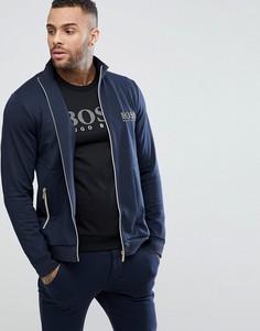 Спортивная куртка на молнии BOSS By Hugo Boss - Темно-синий